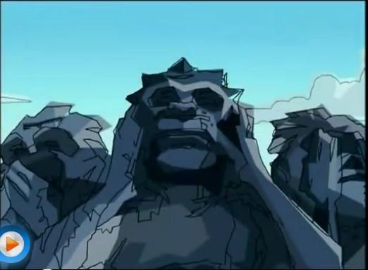 成龙历险记有三个猴石像是第几集