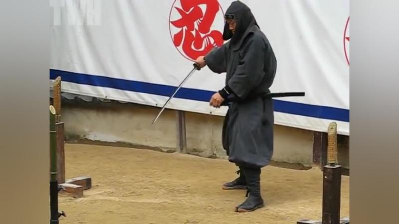十八般兵器样样精通?日本忍者的武艺展示