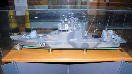 芬兰海军劳马级导弹艇模型鉴赏:图尔库海事博物馆的船模一览