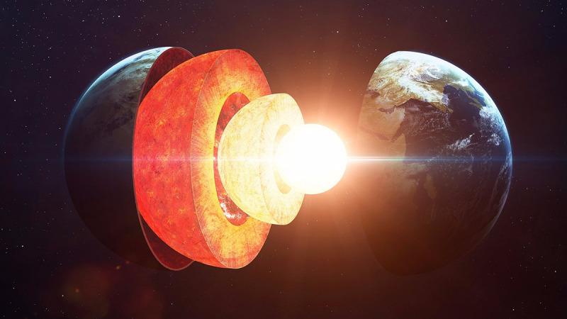 为什么炽热的地球内核是固态铁球?