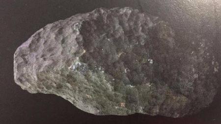 建筑工地发现的稀有龙溪陨石