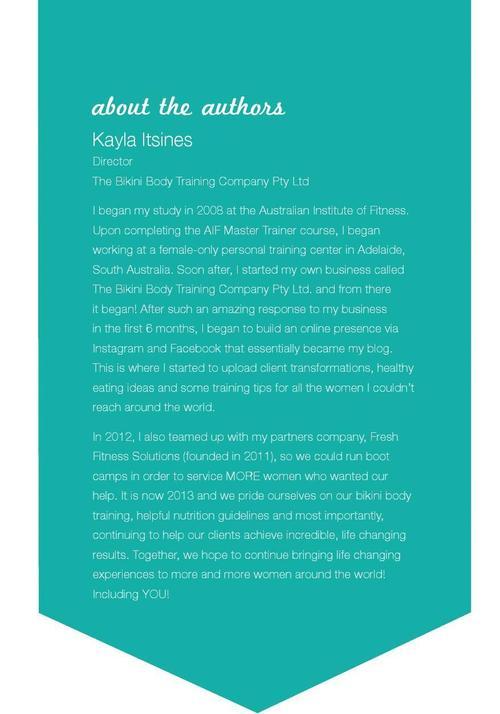 Kayla itsines help ebook nutrition httpglidu fandeluxe Images