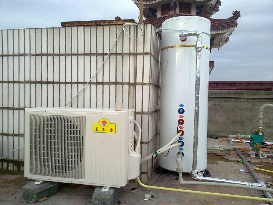 冷气热水器_空气能热水器的进水口(冷水)与出水口(热水)具体尺寸是 ...