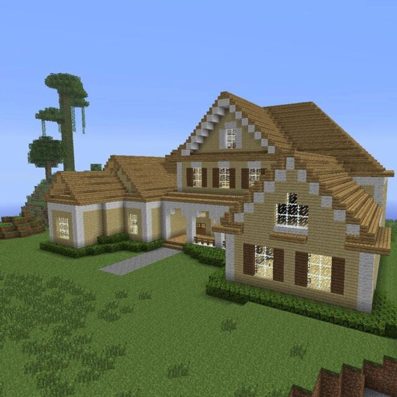 我的世界房子圖片 別墅