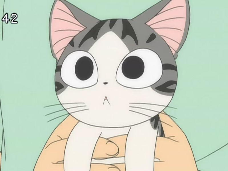 甜甜起司猫国语版_动漫里那只黑白猫_百度知道