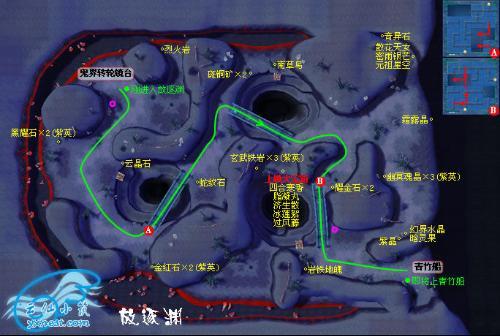 仙剑4放逐渊地图_谁有仙剑4放逐渊的地图_百度知道