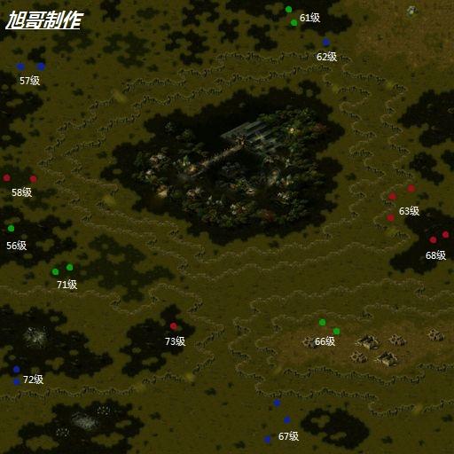qq魔域boss分布地图_谁给我魔域BS刷出地图啊?_百度知道