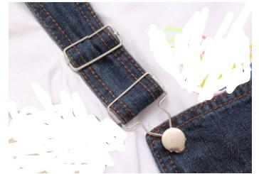 背带裤的扣子怎么装图解法_怎么装背带裤的扣子啊?_百度知道