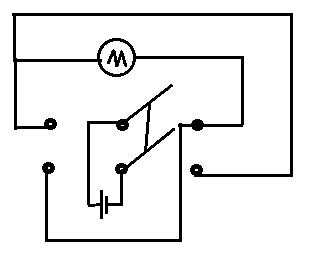 双掷刀闸符号_双刀双掷开关电路原理图_百度知道