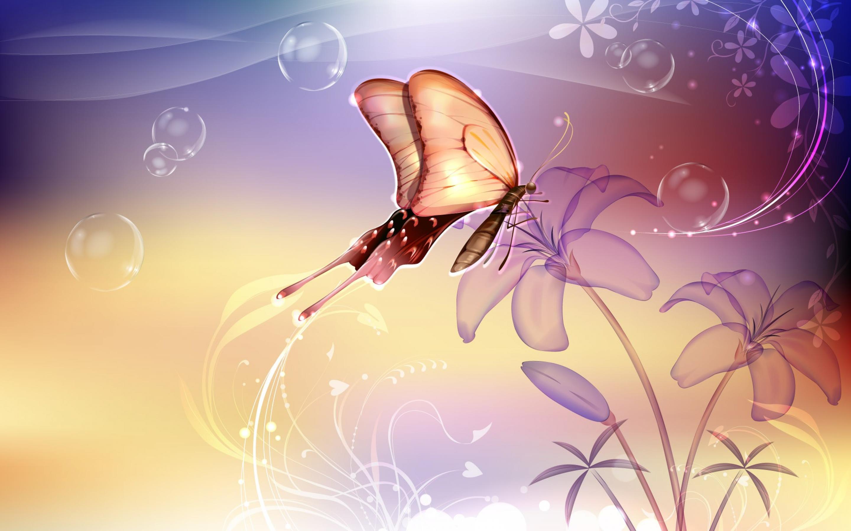 漂亮_很漂亮的梦幻的紫色的蝴蝶.