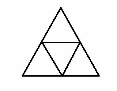 一年级数多少三角形