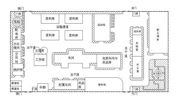 饲料厂平面设计图_工厂设计图CAD_百度知道