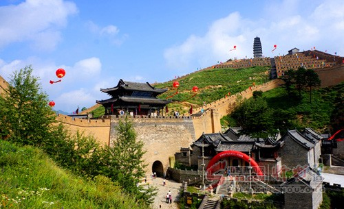 雁门关风景名胜区的长平桥