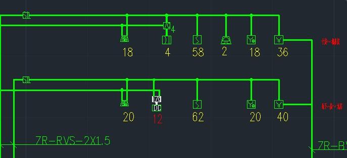消防报警图例_高层建筑火灾报警系统图中火灾报警器、等其他的图例下面标的 ...
