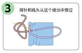 缝衣服双股线