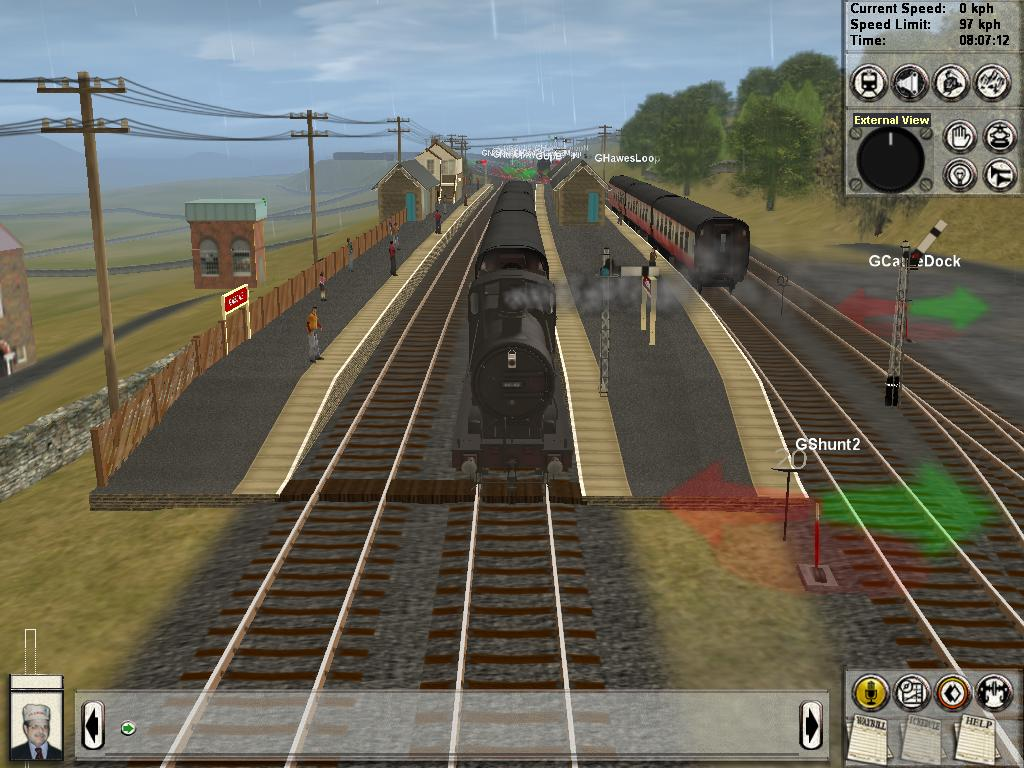 《模拟火车2006》(Trainz Railroad Simulator 2006...