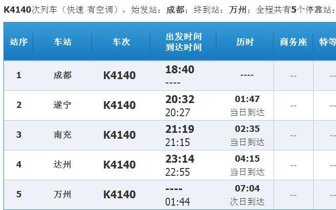 上海到成都的火车时刻表_成都到上海火车在成都那个火车站上车,车次是k4140