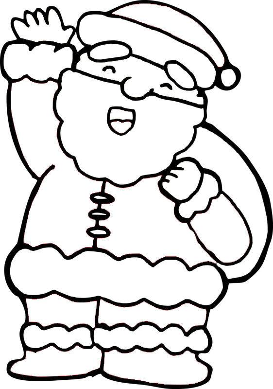怎样简单的绘画圣诞老人涂上色
