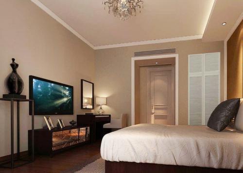卧室的液晶电视买什么牌子比较好?几寸的差不