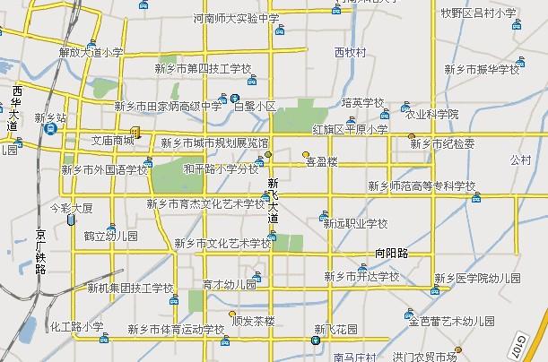 河南省新乡市火车站离市区有多远?