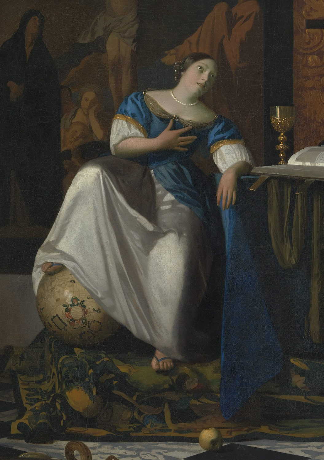 Allegory In Art Painting