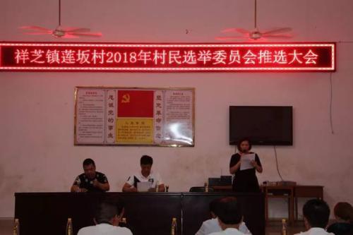 村民基层干部选举程序
