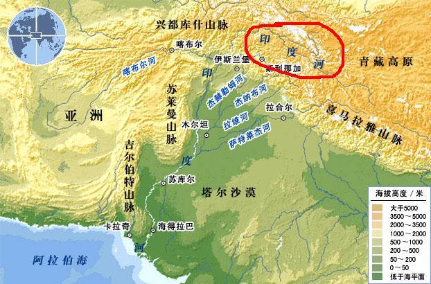 德拉肯斯山脉地图