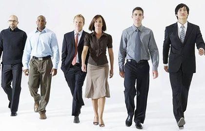 男性正確標準走路姿勢詳細分解步驟圖片