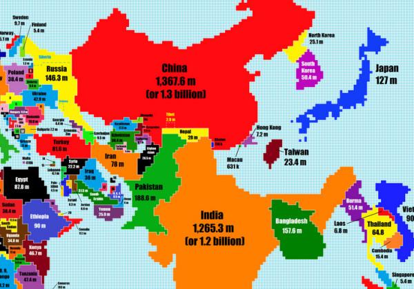 世界各国面积人口排名_世界各国面积和人口排名