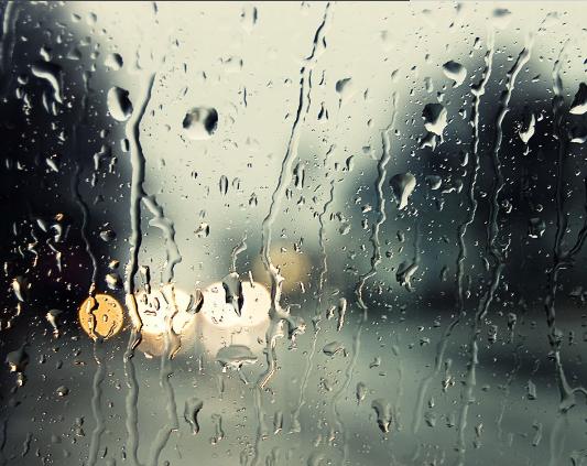 唯美句子关于雨