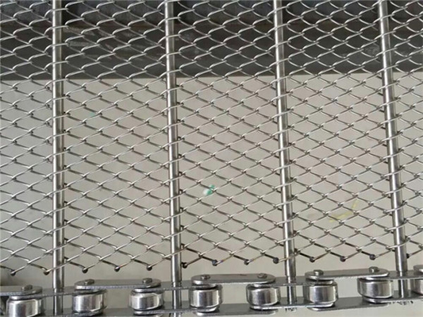 特氟龙网带_耐热耐磨输送链网特氟龙网带金属网带清洗机欢迎选购