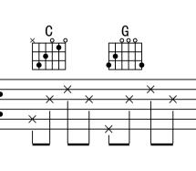 吉他乐谱上的数字怎么弹