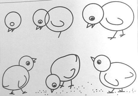 【儿童简笔画小鱼】的画法步骤图(整理)