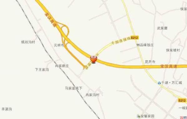 宝汉高速公路的线路规划图片
