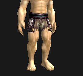 """魔兽世界先驱者腿甲_魔兽世界里锁甲幻化有和""""战痕护腿""""一样的蓝色短裤子的吗 ..."""