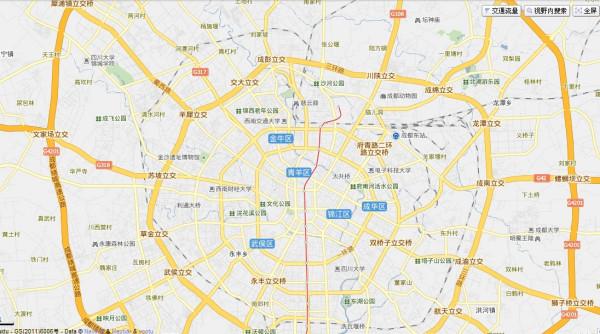成都市地图_成都地图_百度知道