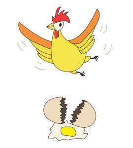 有鸡有蛋猜成语是什么成语_看图猜成语第十五关关答案 一只鸡一把刀一个蛋成