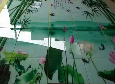 uv淋幕机_瀑式淋涂机uv光油面漆淋幕机瓷砖淋涂固化机