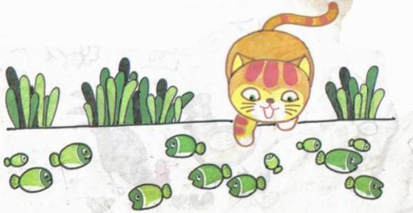 简笔画小花猫有什么颜色