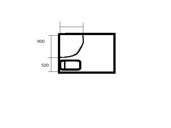 因为是下沉式卫生间,下水管可以任意改位置,你看我给的那个图那样图片