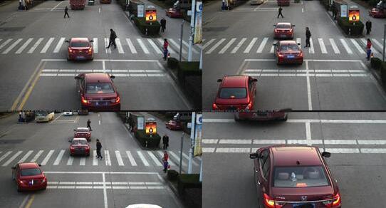 关于上海电子警察抓拍车辆斑马线不让行人罚100扣3...