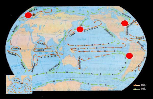 世界洋流分布模式图_跪求 世界洋流分布【要准确的_百度知道