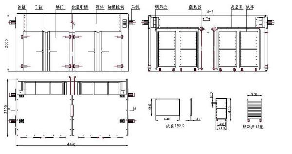 工业烘箱_油桶预热烘箱树脂固化烘箱工业热风