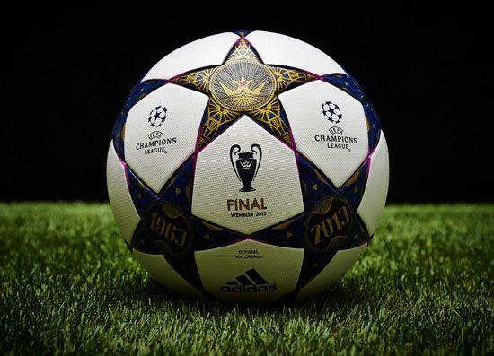 布利球场举行的2013年欧冠决赛.-历届欧冠专用球都什么样的