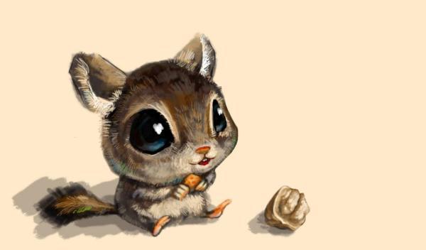 描写松鼠的成语。