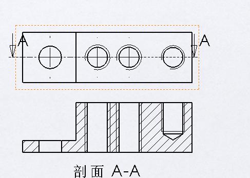 cad三维内螺纹通孔画法_cad二维螺纹孔的画法