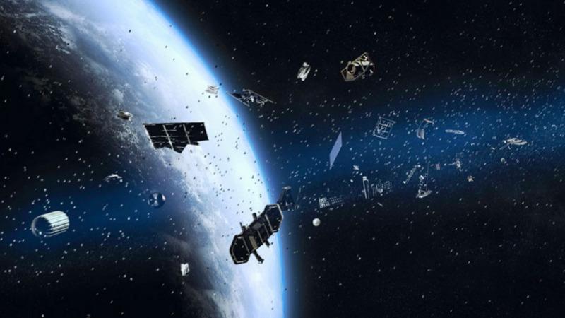 太空垃圾如何影响地球的环境和大气?的头图