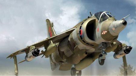 马岛战争上空的21:0!垂直起降技术发展与鹞式飞机