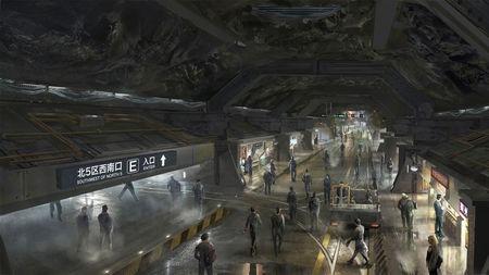 《流浪地球》里的地下城,其实已经建了不少了