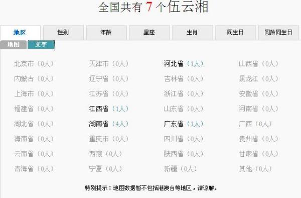 湖南伍姓人口_湖南人口面积图(3)